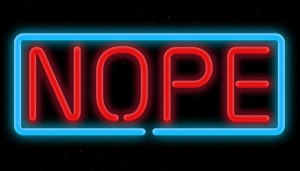 Floating_neon_sign_in_space_that_says_NOPE