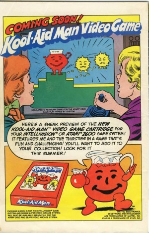 Kool Aid Game for the Atari 2600 and