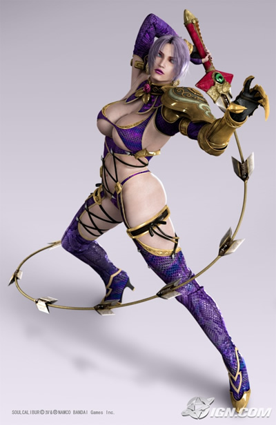 Ivy Valentine. Enough said.