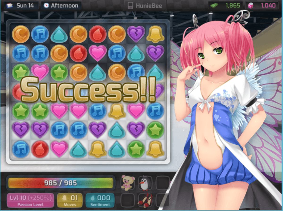 Pickup artist puzzler huniepop is a social justice warrior s