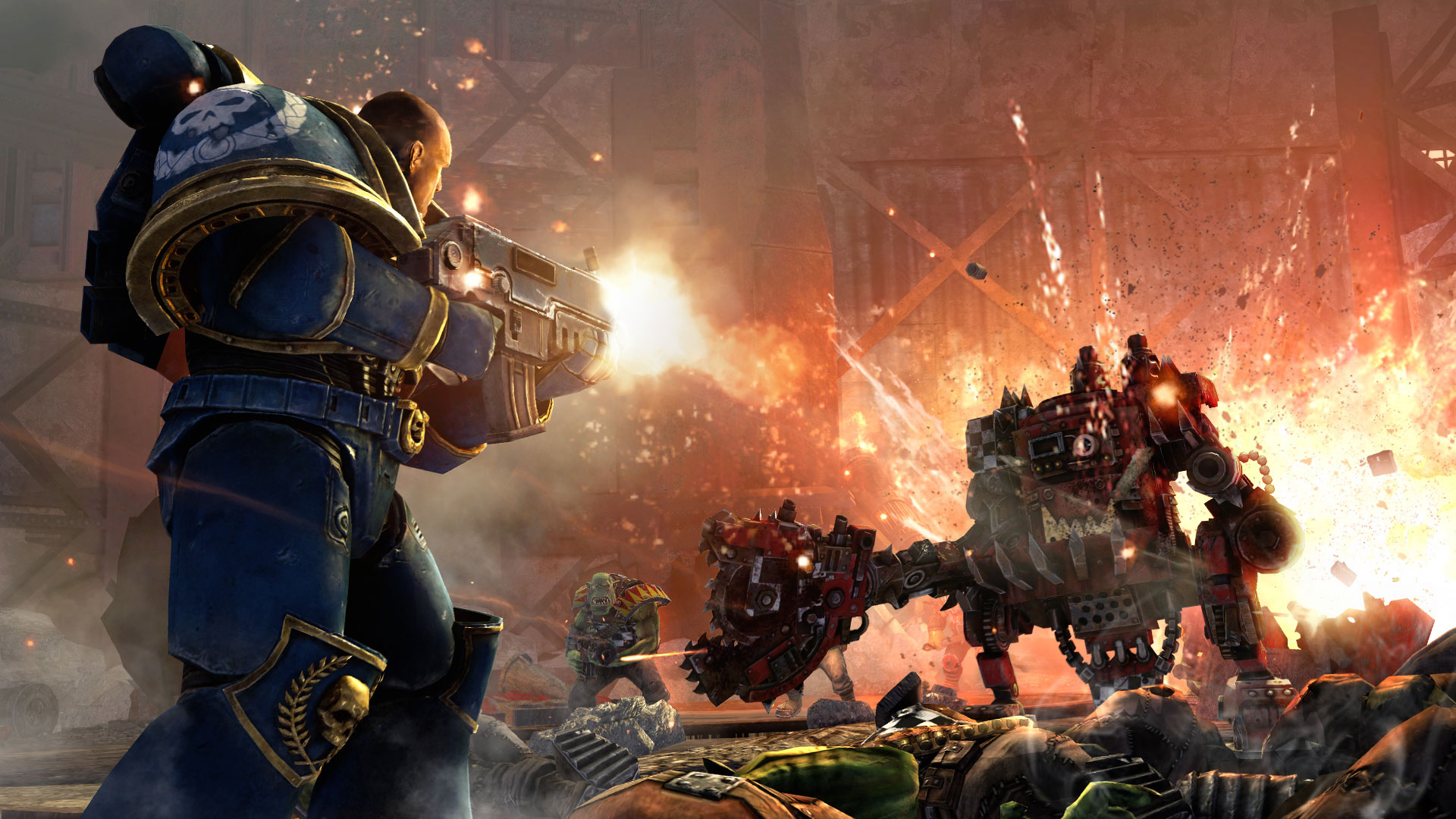 Warhammer 40k Space Marines: The Inescapable Fun Of Warhammer 40K: Space Marine