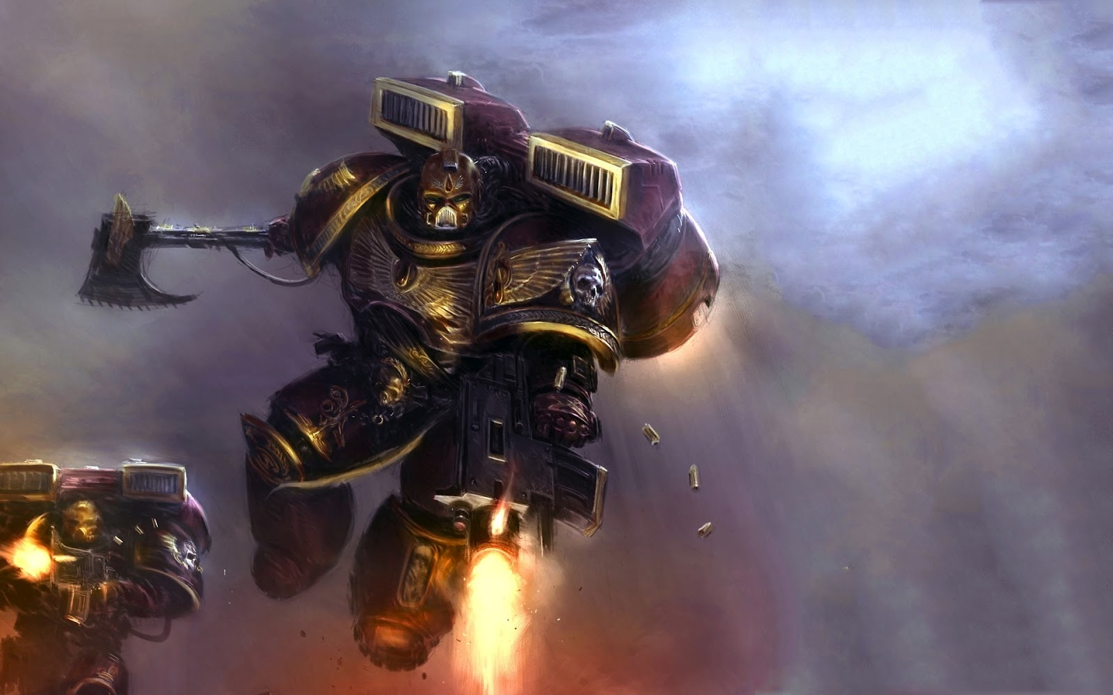 Warhammer 40k death company wallpaper -  Let The Jump Pack Be His Wings And The Roar Of Its Engines A Hymn Of Retribution