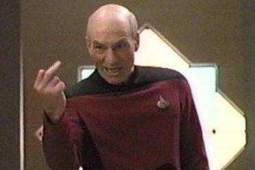 Picard's reaction to PWE and Cryptic.