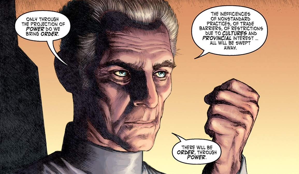 Wilhuff Tarkin, SJW and Imperial Grand Moff