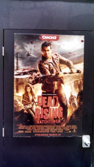 Movie poster for Dead Rising:  The Watchtower