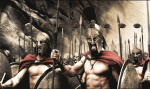 """The Spartans do not ask how many are the enemy, but where are they""- attributed to Plutarch"
