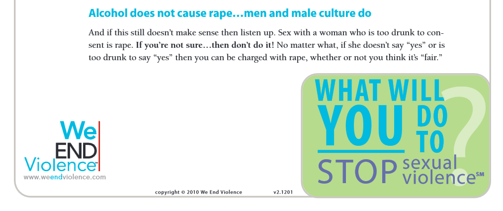 men cause rape