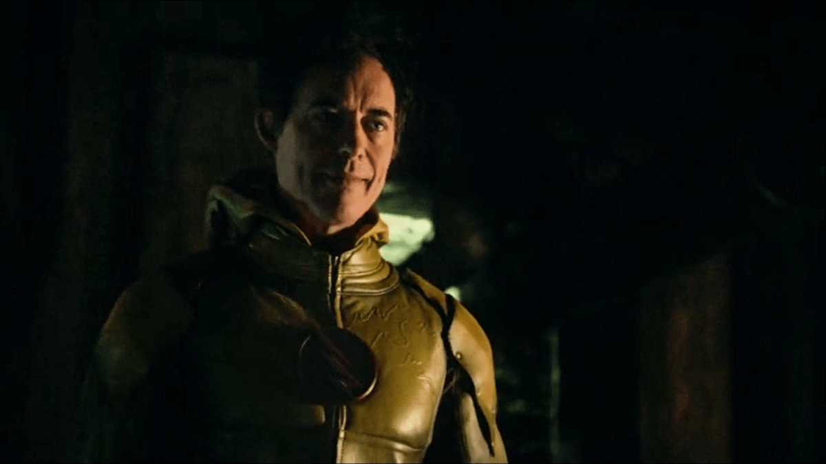 See The Flash's suit is mostly red with yellow highlights. I'm nothing like him because my suit is mostly YELLOW with red highlights.
