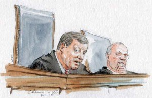 Chief Justice Roberts announcing opinion in Facebook threat posting case.