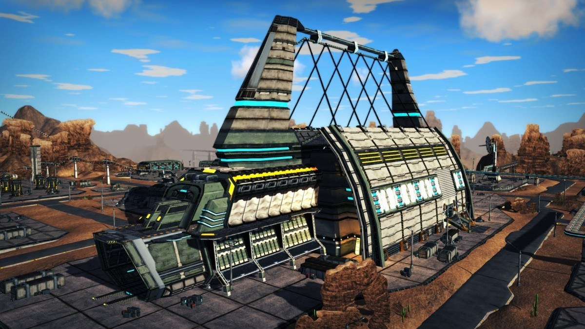 a planetary starbase in Line Of Defense