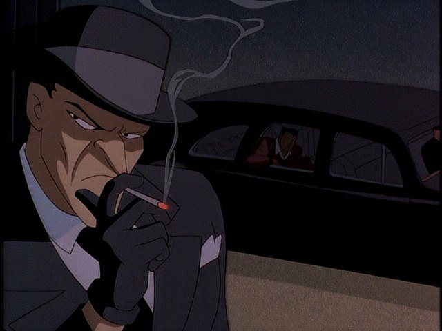 Joker as he appears in DCAU