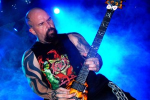 Kerry King, metal legend and lover of hardcore rock.