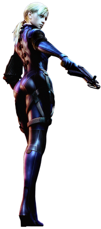 Jill, here to save me from Sheva's boredom