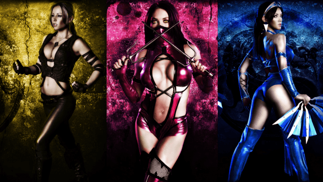 mortal kombat characters female with mask