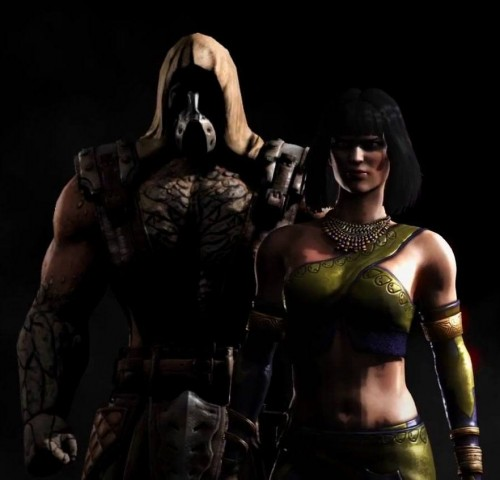 Tremor (left), and Tanya making a return from previous Mortal Kombat entries.