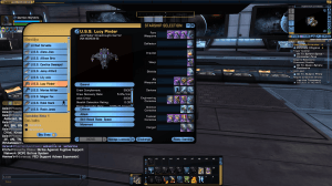 Example of star ship which is only able to be purchased via lobi crystals found in lock boxes.