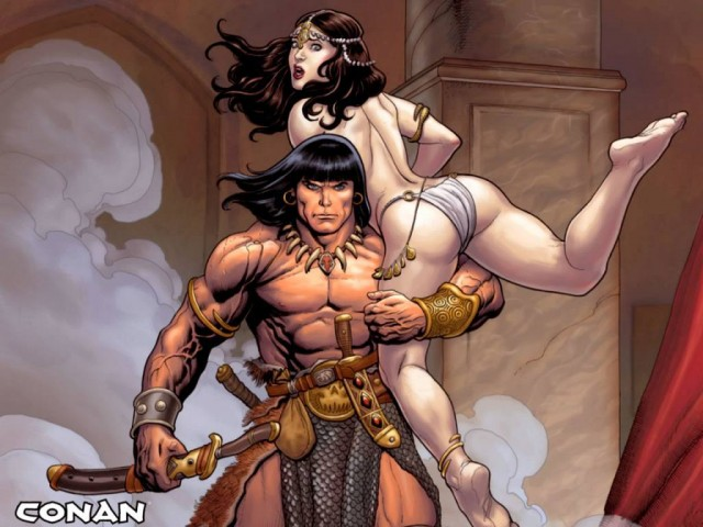 Conan the Barbarian on a date