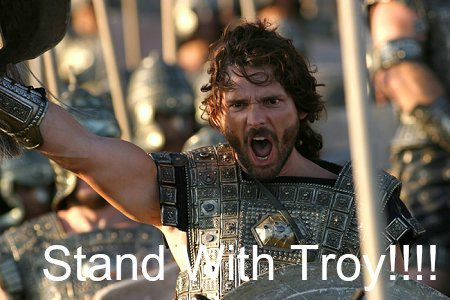 stand with troy